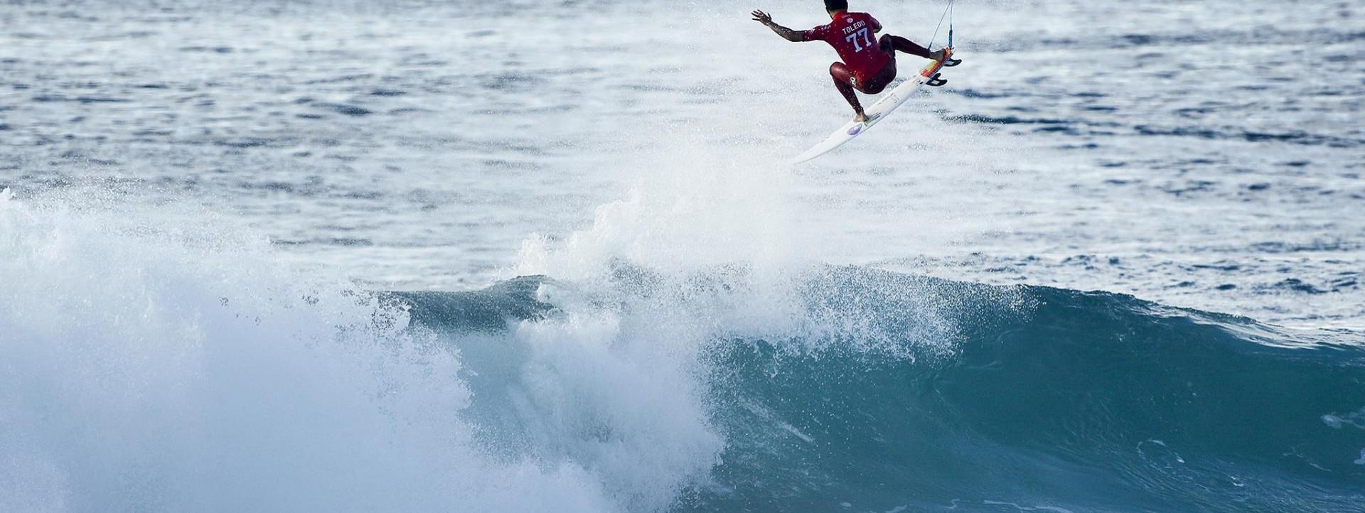 News Surf Quik Pro France 2016 : John John Florence au repêchage, Toledo impérial