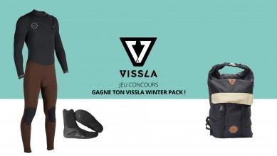 Jeu Concours Gagne ton winter pack Vissla 2016