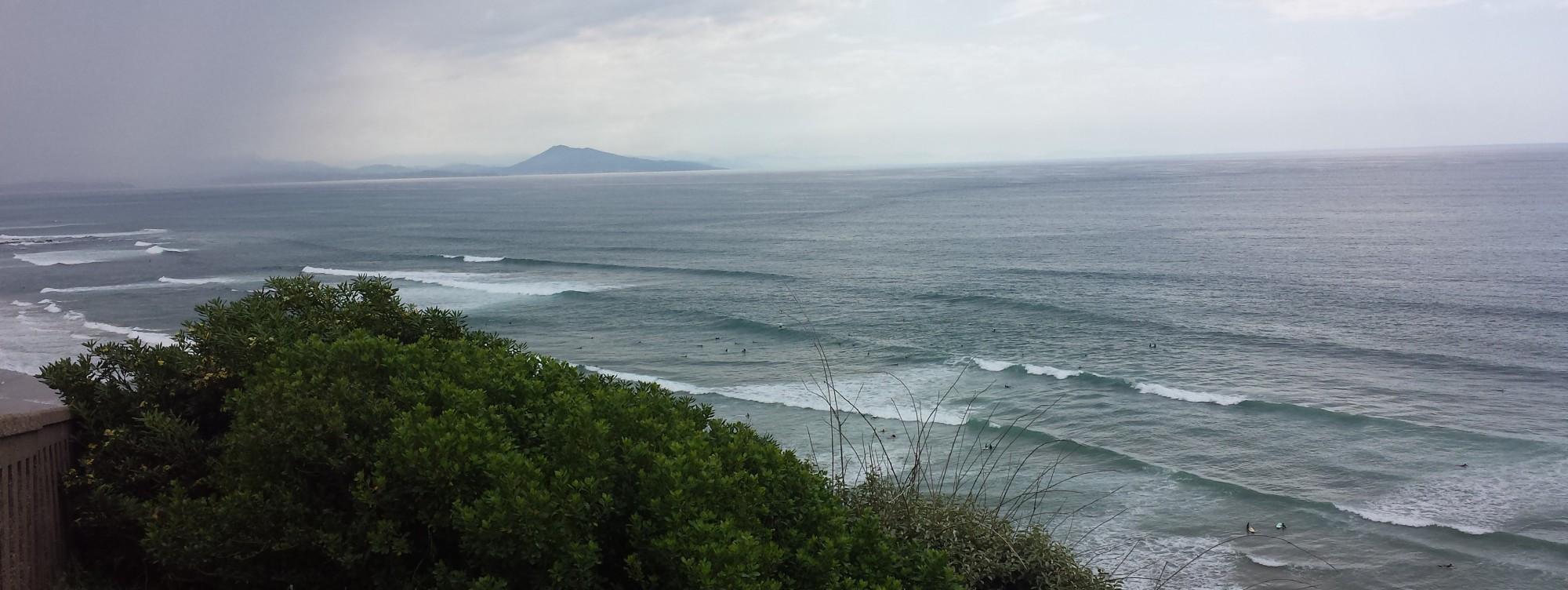 wave report FR, Côte des Basques (64)