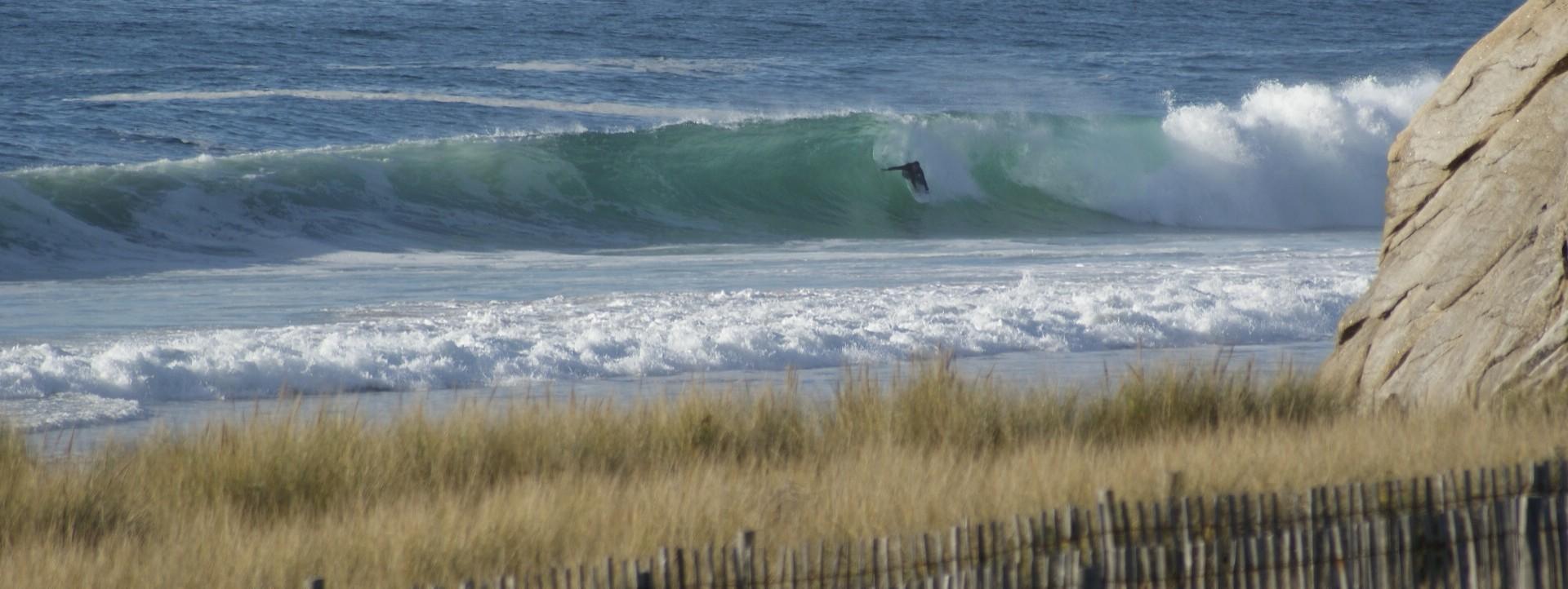 wave report FR, Quiberon - Port Bara (56)