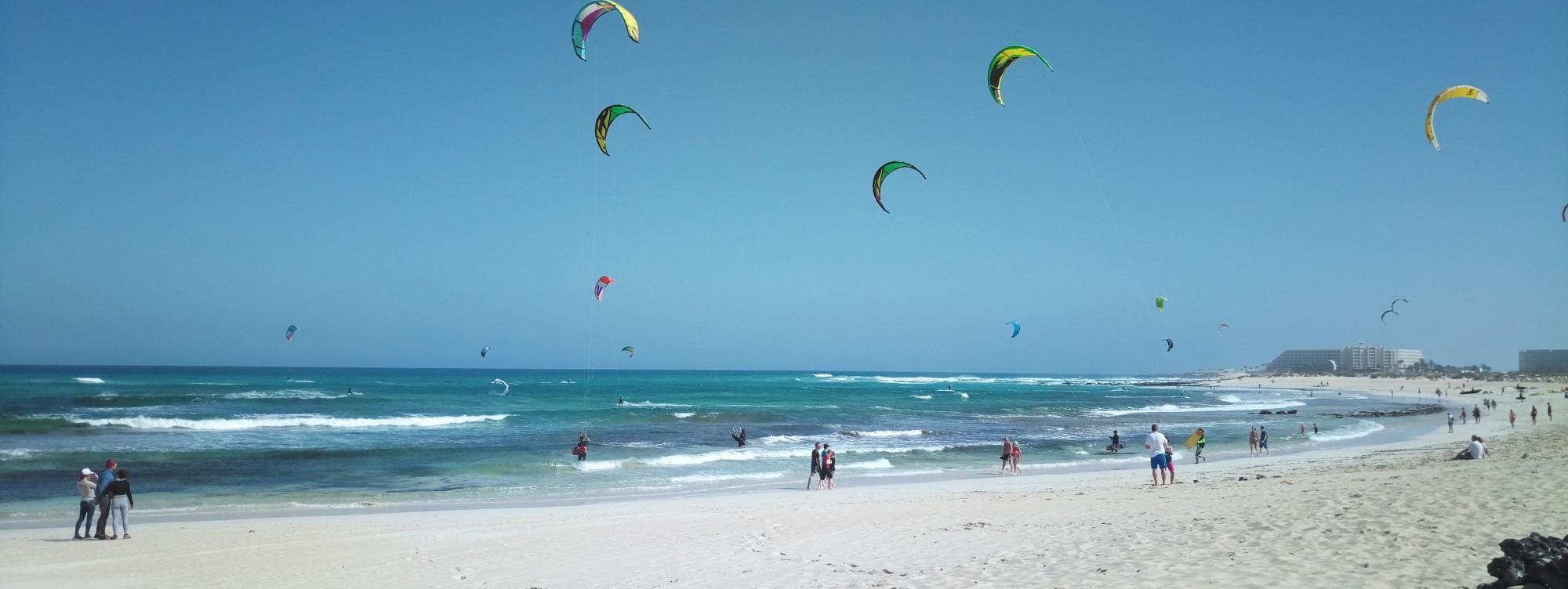 wind report ES, Flag Beach - Fuerteventura (ES)