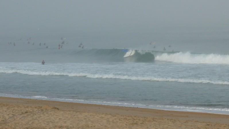 wave report Anglet Les Cavaliers - France (64) 2010-08-21 08:30:00