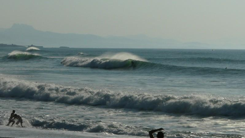 wave report Anglet Les Cavaliers - France (64) 2011-09-25 18:00:00