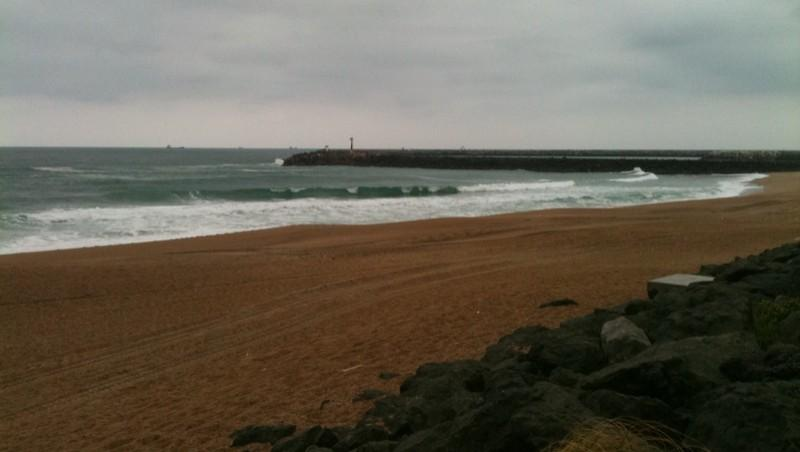 wave report Anglet Les Cavaliers - France (64) 2011-05-03 09:40:00