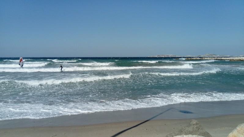 wave report FR, Plage Prado Nord (13) posté par grosloup