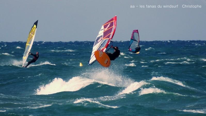 wind report FR, Canet Sud - Pont des Basses (66) posté par annie
