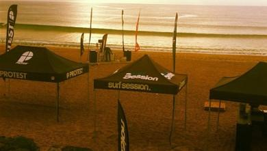 Photo wave report Anglet Les Cavaliers - France - Aquitaine - (64) 2013-09-27 20:30:00