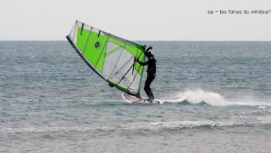 live wind Report FR Port-la-Nouvelle - Plage Nord le 2016-05-31 15:00:00
