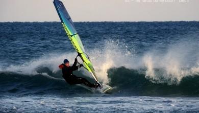 wind Report FR Leucate - La Franqui le 2017-01-18 17:00:00