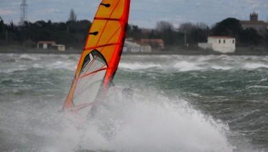 Photo wind report Le Barcarès - Cap Coudalère  - France - Sud de France - (66) 2017-02-28 19:00:00