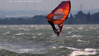 Photo wind report Le Barcarès - Cap Coudalère  - France - Sud de France - (66) 2017-04-06 18:00:00