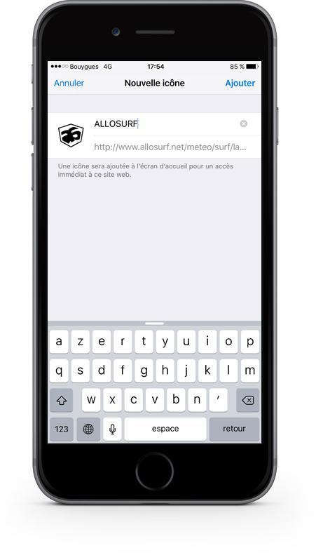 icones de web app sur l'écran d'accueil de votre smartphone